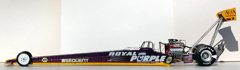 Revell Monogram 1 24 Royal Purple Sequent Top Fuel