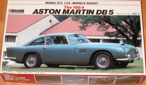 Doyusha 1 24 Aston Martin Db5 Previewed By Dan Lee