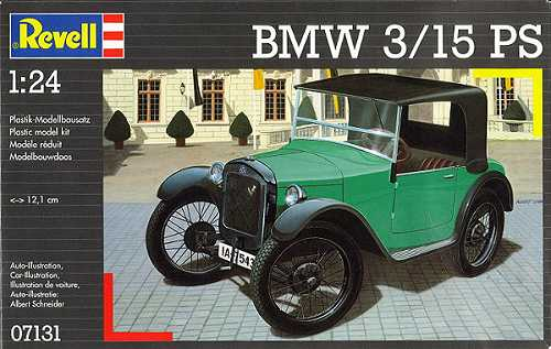 Revell 1 24 Bmw 3 15 Ps