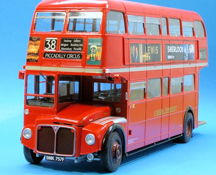 revell 1 24 routemaster long by frank spahr. Black Bedroom Furniture Sets. Home Design Ideas