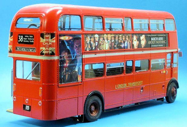 Revell   Loundon Bus Build Review