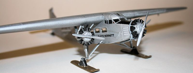 Ford Expedition Review >> Monogram 1/77 Ford Trimotor, by Brian Baker