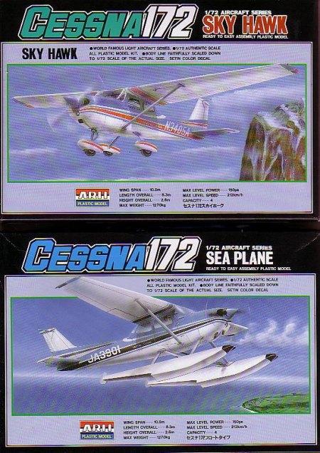 Arii 1/72 Cessna 172s