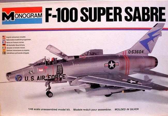 Monogram 1/48 F-100D Super Sabre