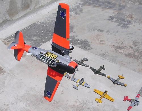Airfix 1/72 T-6G Texan, by Carmel J. Attard