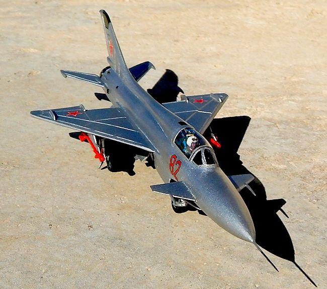 Airmodel 1/72 MiG-21 E8, By Carmel J. Attard