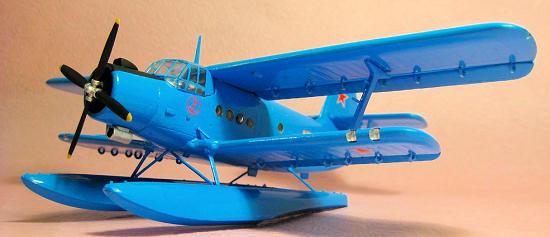 Trumpeter 9361606 Wasserflugzeug Antonov An-2M Colt 1:72 Modellbausatz