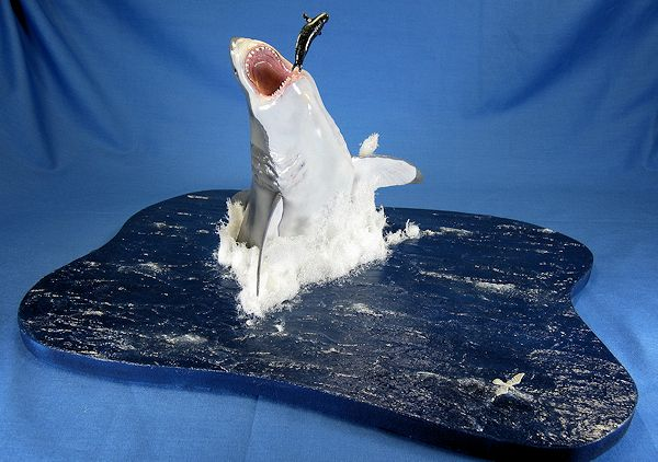 Pegasus Hobbies 1 18 Great White Shark By Scott Lyle