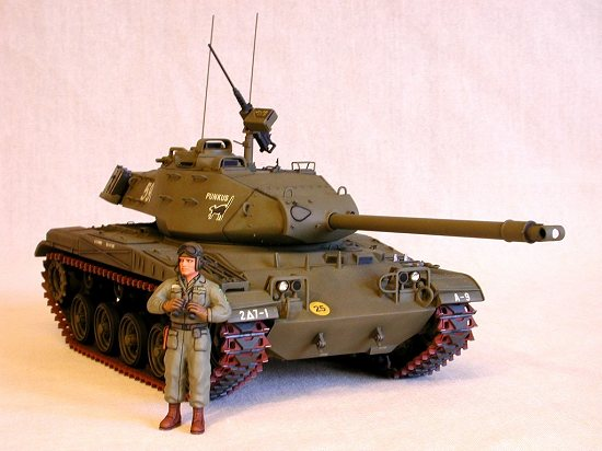 Plastic Fuel Tank >> Tamiya 1/35 M41 Walker Bulldog