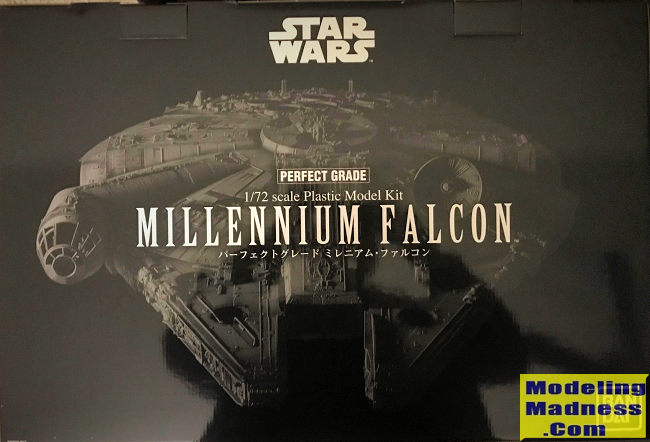 Bandai 172 Millennium Falcon Perfect Grade Previewed By Donald Zhou