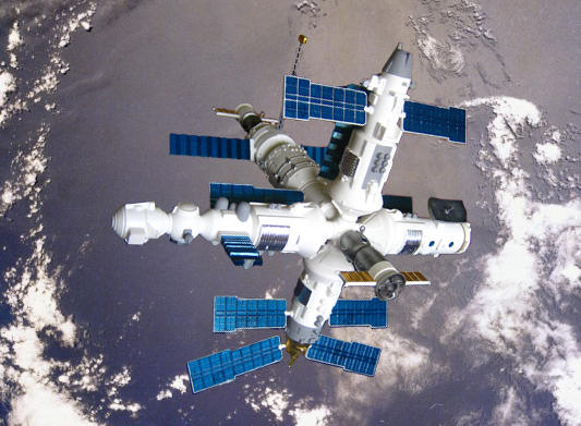 Revell 1 144 Mir Space Station By Richard F