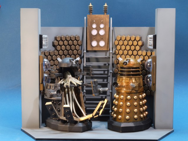 Daleks In Manhattan Building The Airfix Gift Set By Frank Spahr