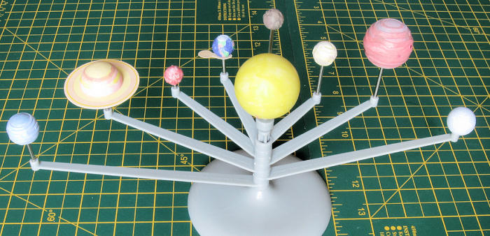 4m Solar System Model Not To Scale By Jeff Simpson