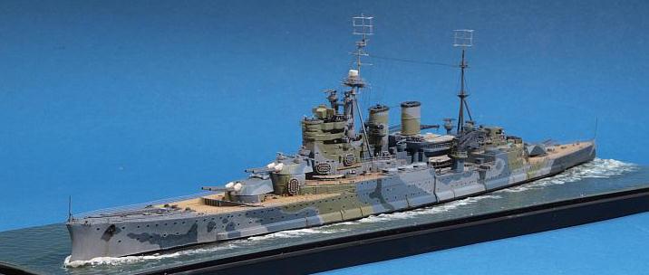 Trumpeter 05764 1//700 HMS Battle Cruiser Renown 1942