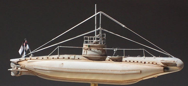 U-Boat Laboratorium's 1/350 German WWI Type UB-I submarine, by Kyle