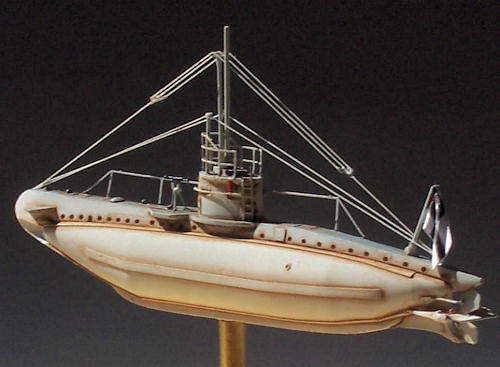 U-Boat Laboratorium's 1/350 German WWI Type UB-I submarine, by Kyle