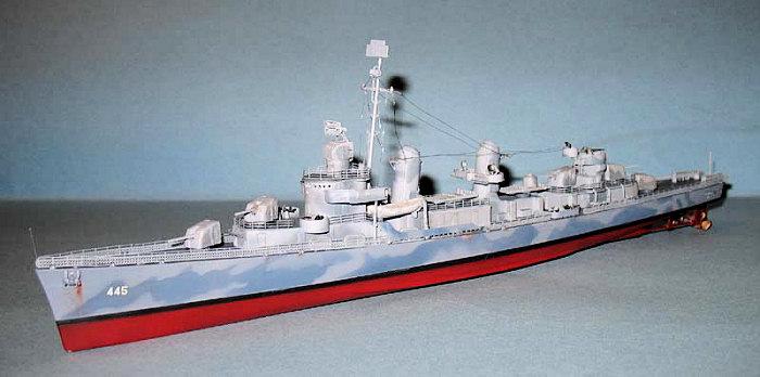 Tamiya 78012 US Navy Destroyer DD445 Fletcher 1//350 scale kit
