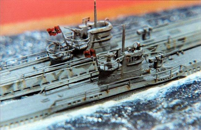 Easy Model 1:700 Type VIIB U-Boat Kriegsmarine