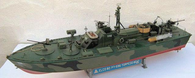 Italeri 1/35 Elco 80' PT boat, by Richard Reynolds