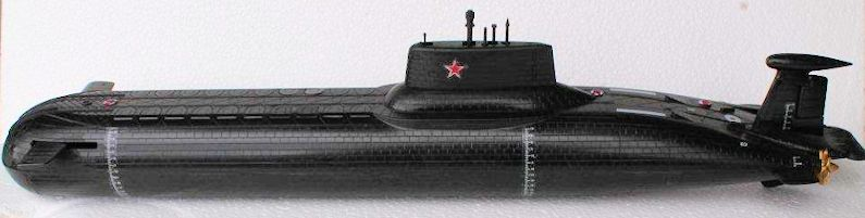 1/400 'Red October' Submarine, by George Oh