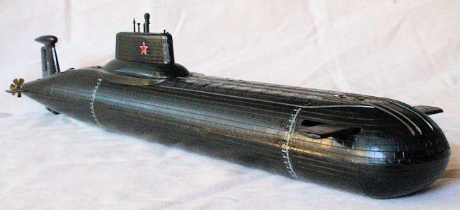 1 400 Red October Submarine By George Oh