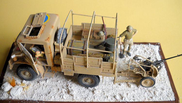 Italeri 1 35 15 Cwt Truck With Breda By Amin Ghazzaoui