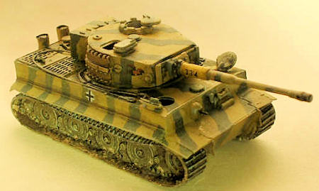 Airfix 1 76 Tiger Tank By David Carley