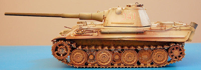 Cyber Hobby 1 35th Panther Ii Heavy Tank By Greg Ewald