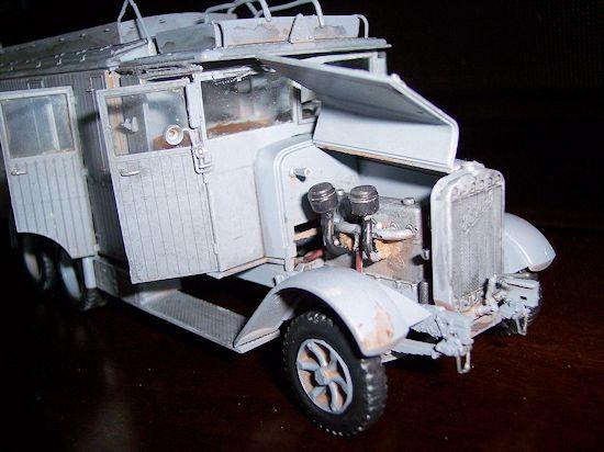 Icm 1 35 Henschel 33 D1 Kfz 72 Radio Truck By Ray Mehlberger