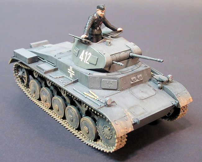 Tamiya 1 48 Panzer Ii By Jonathan Prestidge