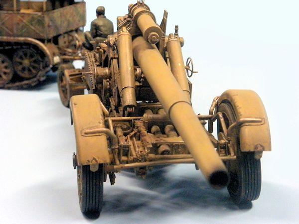 Tamiya 1  35 Sd Kfz 9 18t Famo Halftrack And Trumpeter 21cm