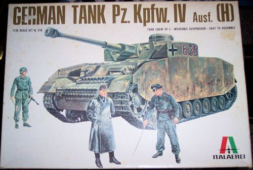 Italaerei 1 35 Panzer Iv Ausf H Previewed By Ray Mehlberger