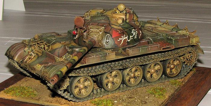 TAMIYA 35257 Soviet Tank T 55 1:35 Military Model Kit
