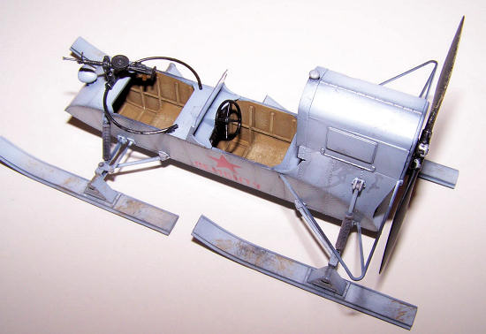 Trumpeter 02322 1//35 Soviet Aerosan RF-8//GAZ-98 Combat Sled Assembly Model Kits