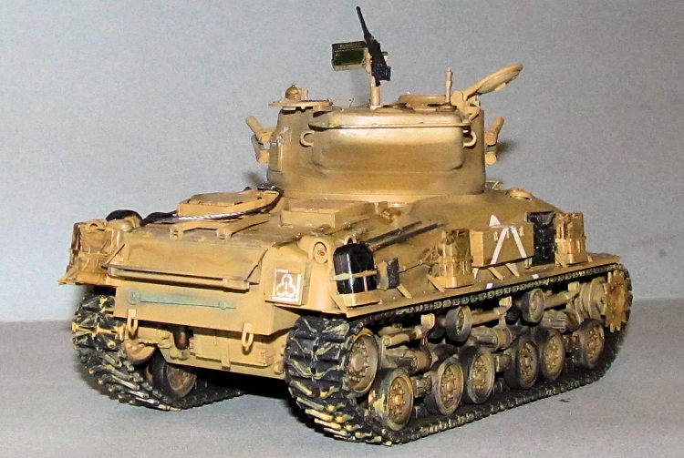 Tamiya 1/35 M51 Sherman, by Dan Lee