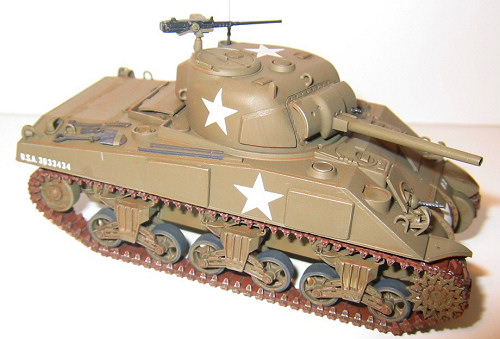Tamiya 1/48 M4A3 Sherman, by Bill Michaels