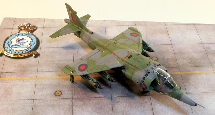 Monogramairfix 148 Harrier Gr3 By Paul Mahoney