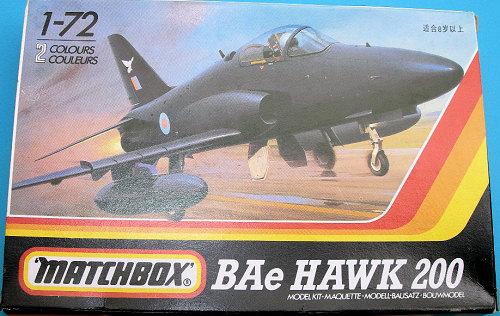 Matchbox 1/72 Hawk 200...