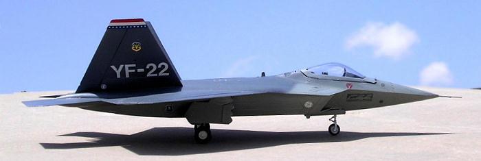 Italeri 1 72 Yf 22 Lightning Ii By Carmel J Attard