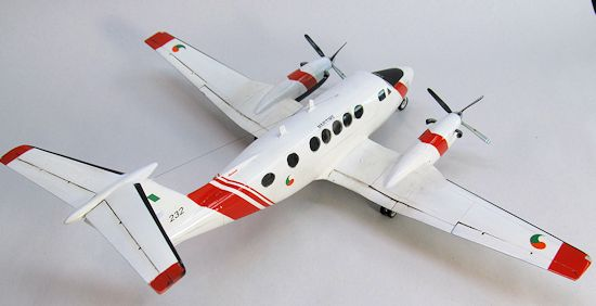Red Bear 1/48 King Air B200, by Patrick Earing