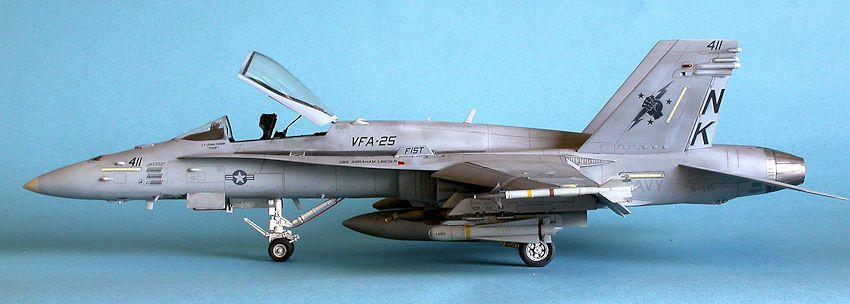 Academy 1/32 F-18C Hornet , by Lee Kolosna