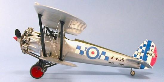 Bristol Bulldog MK II A 1//48 Smer 17TH Sqn Raf