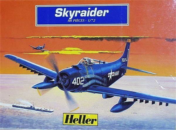 Plastic Seat Covers >> Heller 1/72 A-1 Skyraider