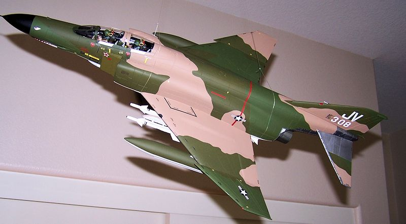 early production Tamiya 1//32 F-4E Phantom II # 60310