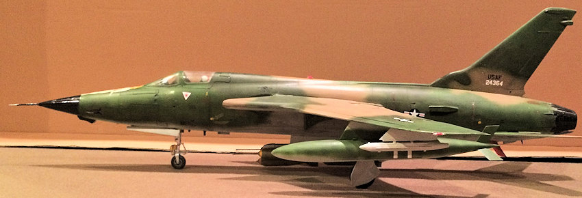 Trumpeter 1 32 F 105d Thunderchief By Donald Zhou