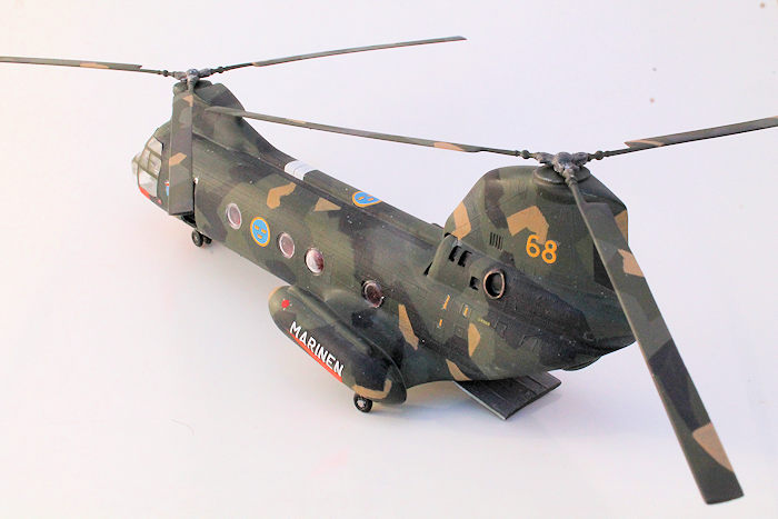 Airfix 1/72 UH-46 Sea Knight, by George Oh