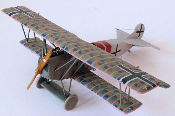 Fokker E.V//D.VIII von Roden in 1//72