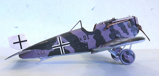 Roden Models 1//72 JUNKERS D.I German WWI Ground Attack Aircraft