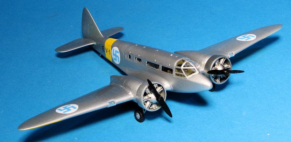 RS Models 1/72 Airspeed Envoy, by Scott Van Aken