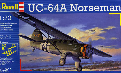 Revell 1 72 Uc 64a Norseman Previewed By Scott Van Aken